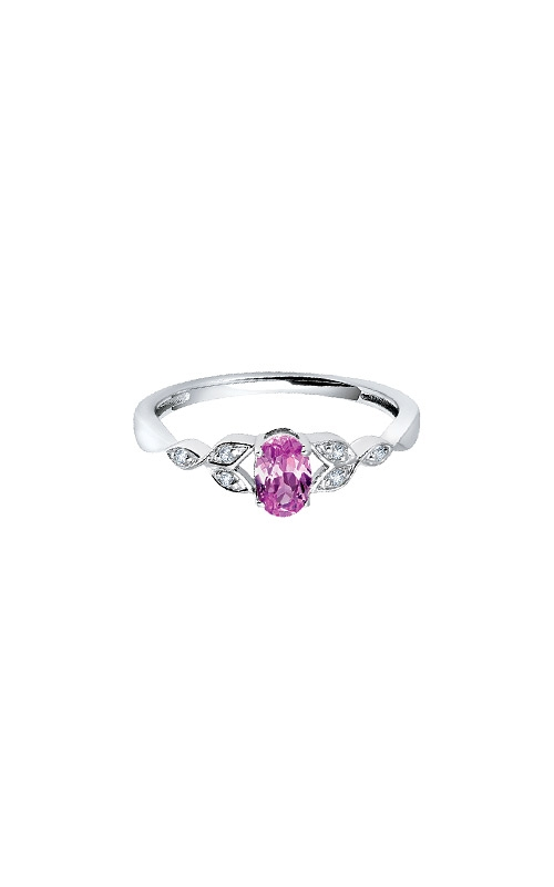 Albert's Sterling Silver .036ctw Created Pink Sapphire Ring RM7343-CP-SSAS43-7 product image