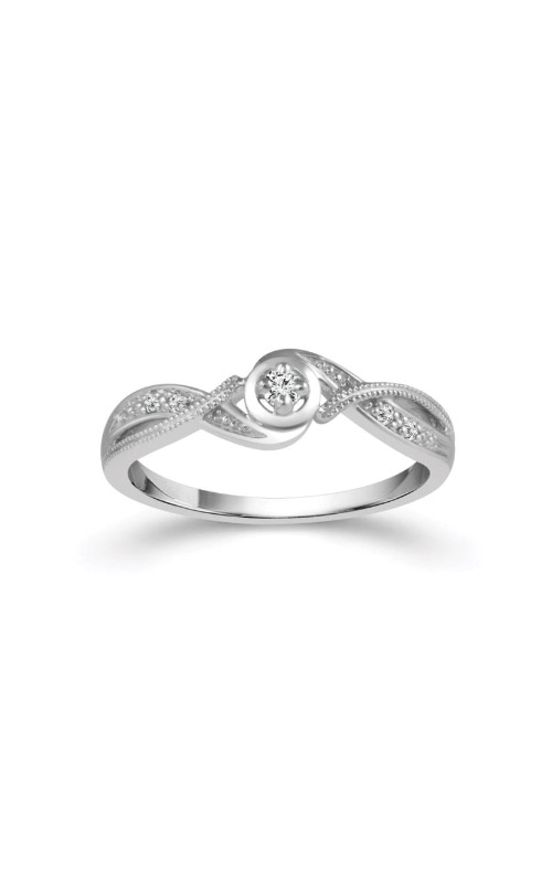 Albert's 10k White Gold .07ctw Diamond Promise Ring RP-0136-PR10W product image