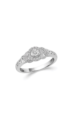 Albert's Sterling Silver 1/6ctw Diamond Promise Ring RP-0452TPA77SIL product image