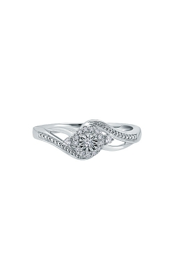 Albert's Sterling Silver 1/10ctw Diamond Promise Ring RP-0478-A77-SIL product image