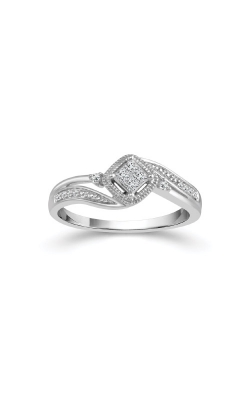 Albert's 10k White Gold 1/6ctw Quad Diamond Promise Ring RP-0491-A67-10W product image