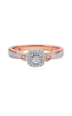 Albert's 10k White & Rose Gold 1/8ctw Promise Ring RP-1962A78T0S product image