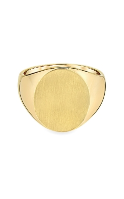 Albert's 14k Yellow Gold Gents Signet Ring RS126 product image