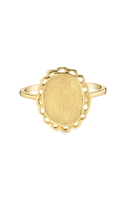 Albert's 14k Yellow Gold Signet Ring RS193 product image