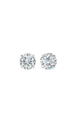 Albert's 14k White Gold 1ctw Round Diamond Stud Earrings SE3100-4WF product image