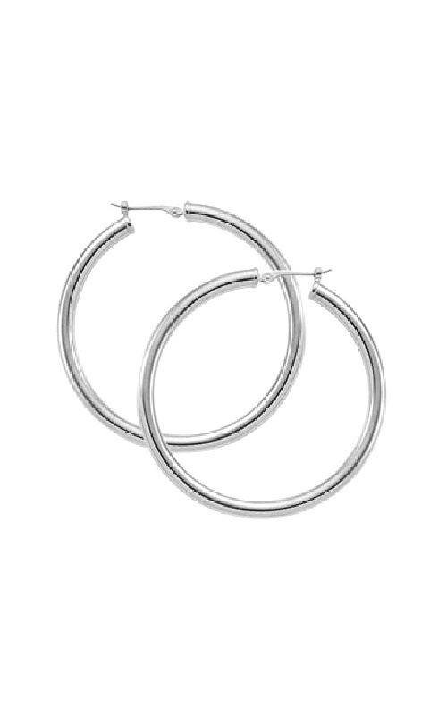 Albert's Sterling Silver 3x40mm Hoops 63/368 product image