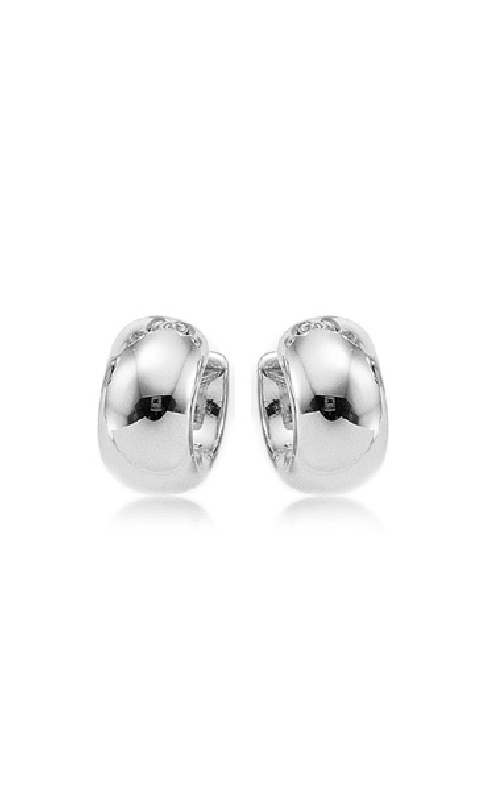 Albert's Sterling Silver Wide Band Hoops 4236-SS product image
