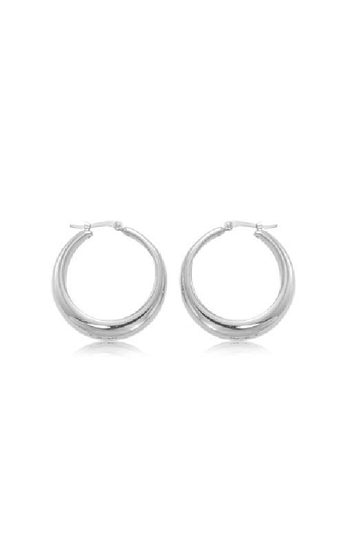 Albert's Sterling Silver Hoop Earrings 4270-SS product image