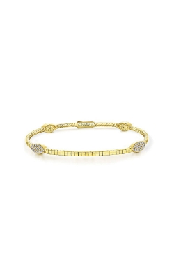 Albert's 14k Yellow Gold .31ctw Diamond Bangle Bracelet TB4165Y45JJ product image