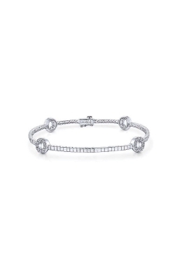 Albert's 14k White Gold .35ctw Diamond Bangle Bracelet TB4168W45JJ product image