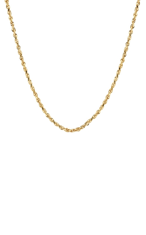 Albert's 10k Yellow Gold 24in 3mm Diamond Cut Rope Chain TM001591 10Y_24 product image