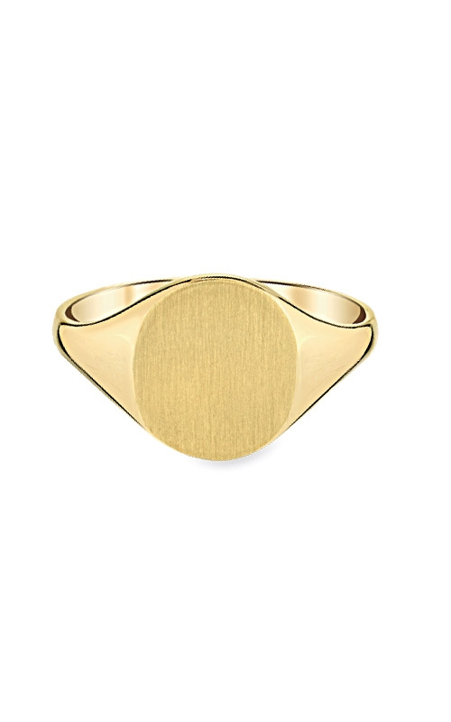Albert's 14k Yellow Gold Signet Ring RS101 product image