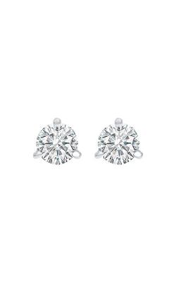 Albert's 14k White Gold 1/4ctw Round Diamond Stud Earrings ER10093 product image
