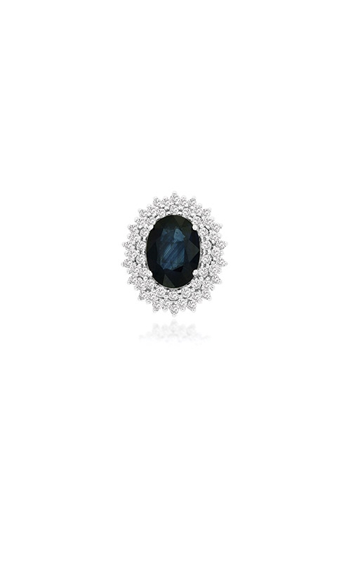 Albert's 14k 1.80ctw Blue Sapphire Diamond Pendant WC9858S product image