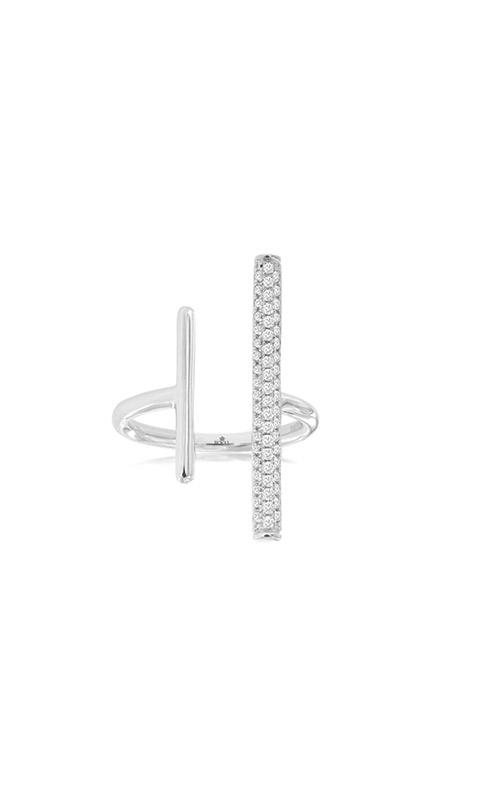 Albert's 14k White Gold .45ctw Diamond Bar Ring WH1142D product image