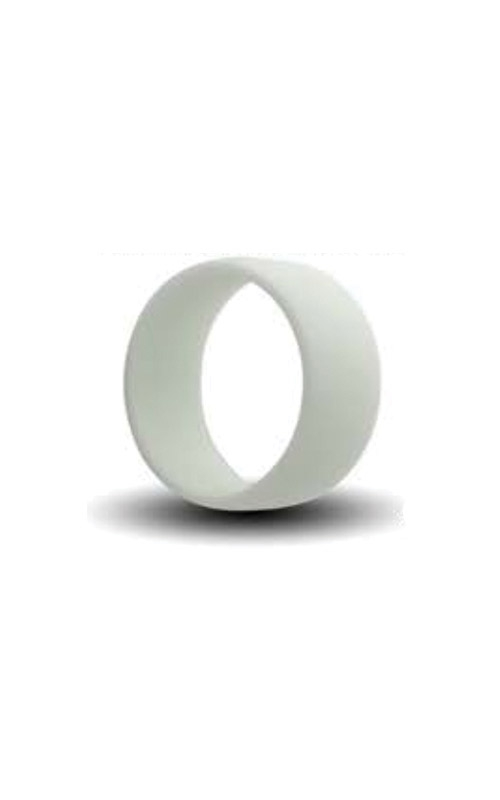 Albert's White Silicone Band Size 10 SILICONE10-WHITE product image