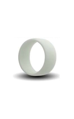 Albert's White Silicone Band Size 8 SILICONE8-WHITE product image