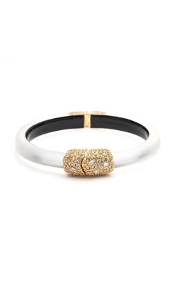 Alexis Bittar Crystal Encrusted Clasp Skinny Hinge Bracelet AB00B133010 product image