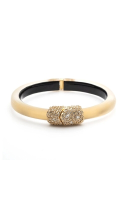 Alexis Bittar Crystal Encrusted Clasp Skinny Hinge Bracelet AB00B133020 product image