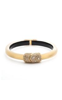 Alexis Bittar Crystal Encrusted Clasp Skinny Hinge Bracelet AB00B133020 product image