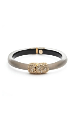 Alexis Bittar Crystal Encrusted Clasp Skinny Hinge Bracelet AB00B133059 product image