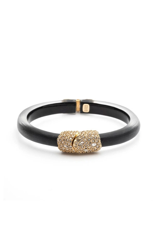 Alexis Bittar Crystal Encrusted Clasp Skinny Hinge Bracelet AB00B133200 product image