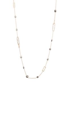 Alexis Bittar Pyrite Link Station Necklace AB00N110 product image
