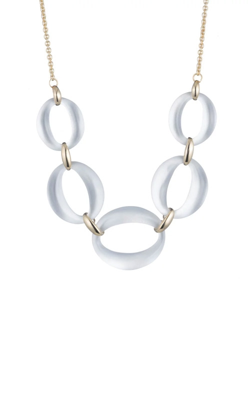 Alexis Bittar Large Lucite Link Necklace AB00N118010 product image