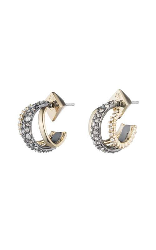 Alexis Bittar Crystal Encrusted Orbiting Hoop Earring AB74E018 product image