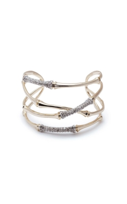 Alexis Bittar Orbiting Bamboo Crystal Encrusted Cuff Bracelet AB92B014 product image