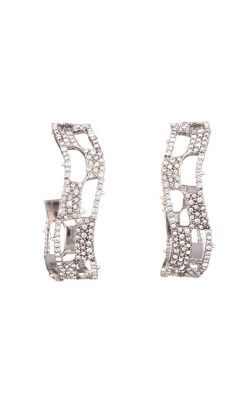 Alexis Bittar Pave Checkerboard Hoop Earring AB93E001 product image