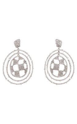 Alexis Bittar Pave Checkerboard Orbiting Post Earring AB93E004 product image