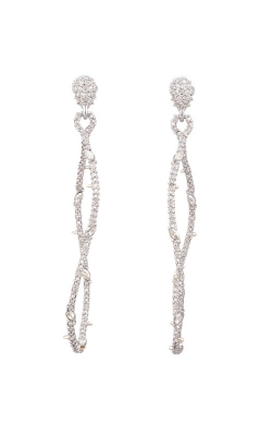 Alexis Bittar Twisted Linear Pave Post Earring AB93E016 product image