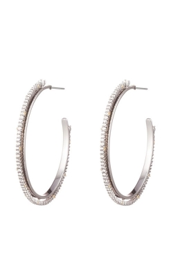 Alexis Bittar Crystal Encrusted Spiked Hoop Earring AB93E017 product image