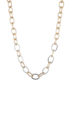 Alexis Bittar Crystal Encrusted Mesh Chain Link Necklace AB93N007 product image