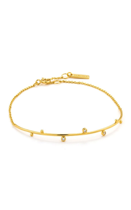 Ania Haie Shimmer Solid Bar Stud Bracelet  B003-02G product image