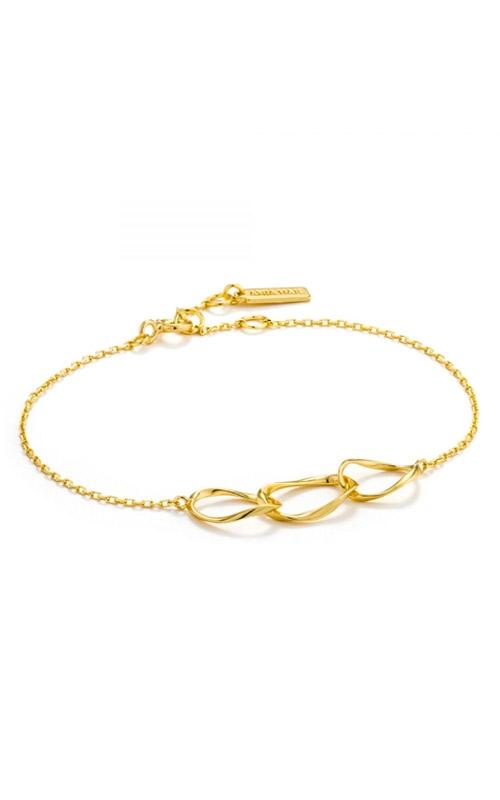 Ania Haie Swirl Necklace Bracelet B015-01G product image