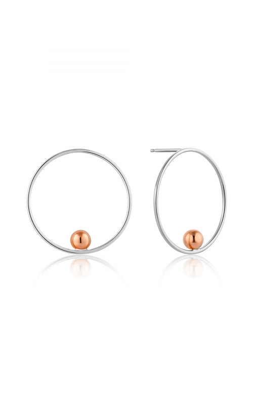 Ania Haie Orbit Front Hoop Earrings E001-01T product image