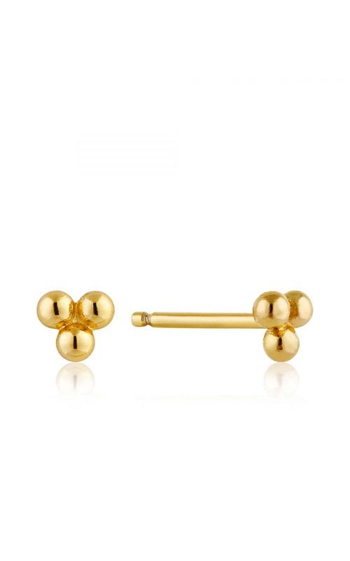 Ania Haie Modern Triple Ball Stud Earrings E002-01G product image