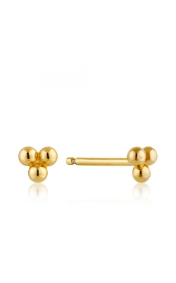 Ania Haie Modern Triple Ball Stud Earrings E002-01G product image