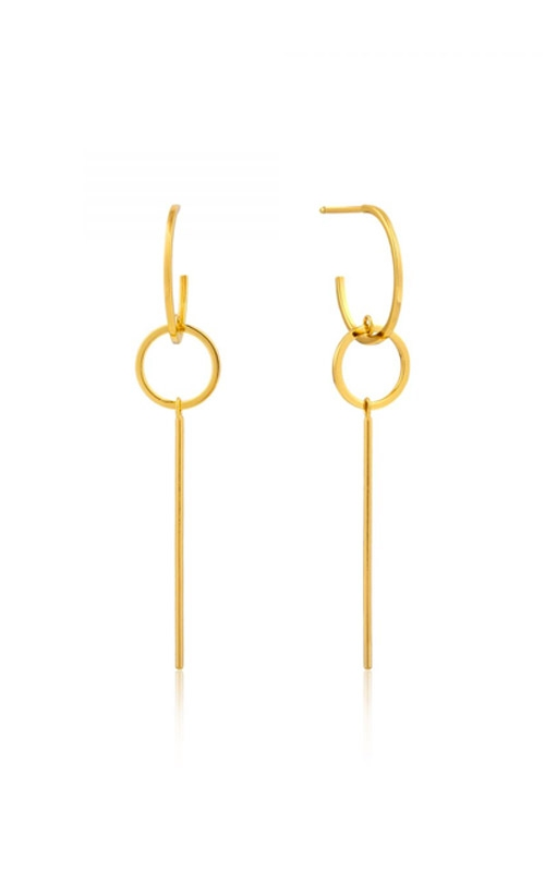 Ania Haie Modern Solid Drop Earrings E002-03G product image