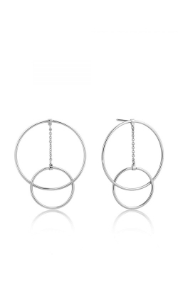 Ania Haie Modern Front Hoop Earrings E002-04H product image
