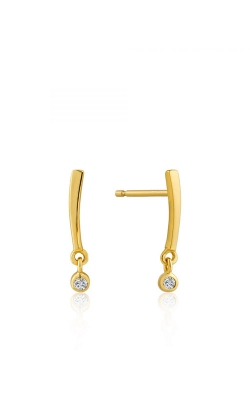 Ania Haie Shimmer Bar Stud Earrings E003-03G product image