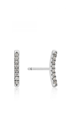 Ania Haie Shimmer Pave Bar Stud Earrings E003-06H product image