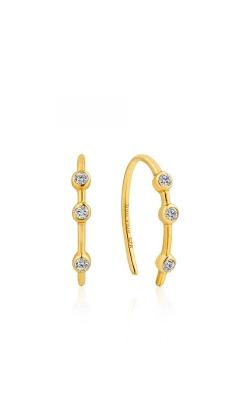 Ania Haie Shimmer Stud Hook Earrings E003-07G product image