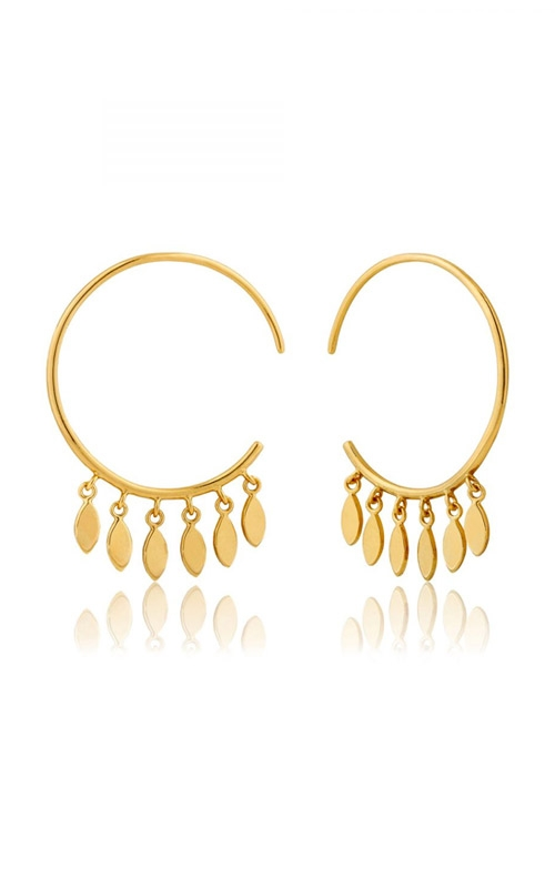 Ania Haie Multi Drop Hoop Earrings E008-05G product image