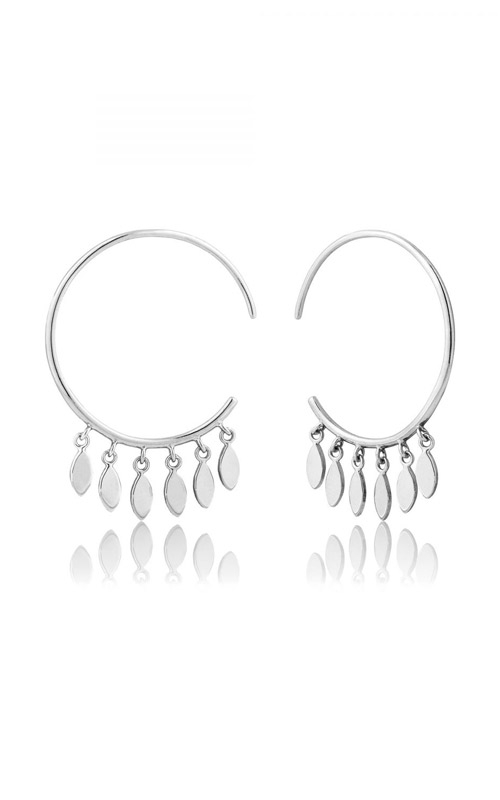 Ania Haie Multi Drop Hoop Earrings E008-05H product image