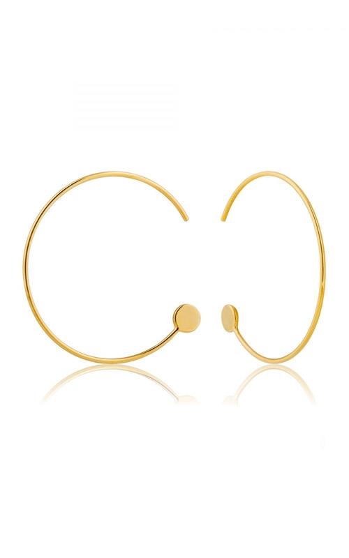 Ania Haie Open Hoop Earrings E008-14G product image