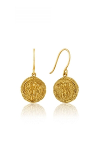 Ania Haie Emblem Hoop Earrings E009-05G product image