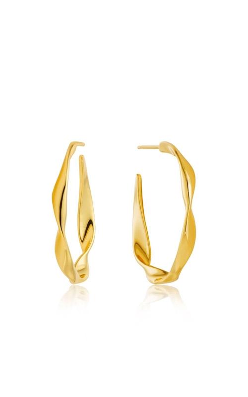 Ania Haie Twist Hoop Earrings E012-04G product image